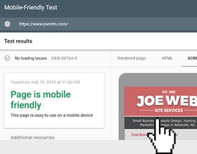 mobile friendly responsive design