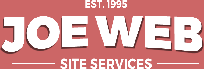 Joe Web site design logo