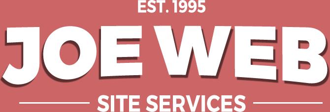 Joe Web site design logo