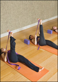 Pilates classes in omaha nebraska faythe wemhoff for Floor yoga stretches